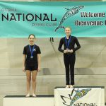 Gracie 1st and Talia 2nd in Girls C 3m